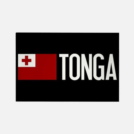 Tonga: Tongan Flag & Tonga Rectangle Magnet