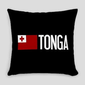Tonga: Tongan Flag & Tonga Everyday Pillow