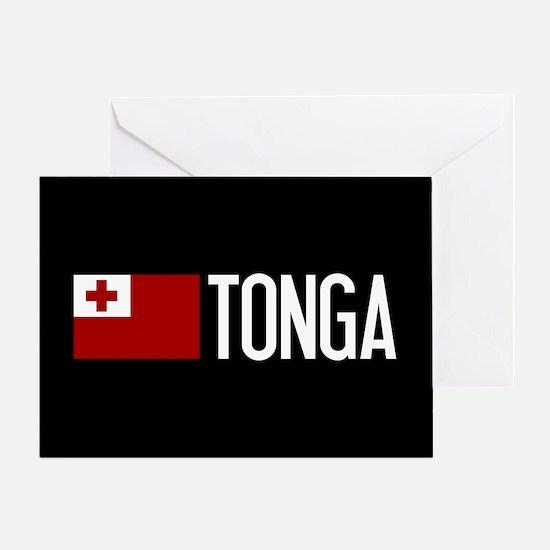 Tonga: Tongan Flag & Tonga Greeting Card
