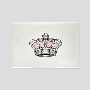 Crown - Pink Magnets