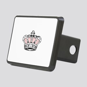 Crown - Pink Rectangular Hitch Cover