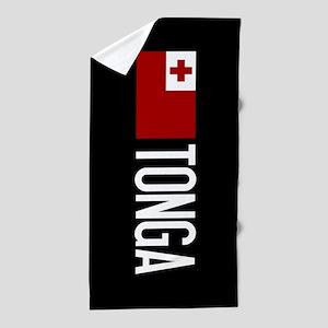 Tonga: Tongan Flag & Tonga Beach Towel
