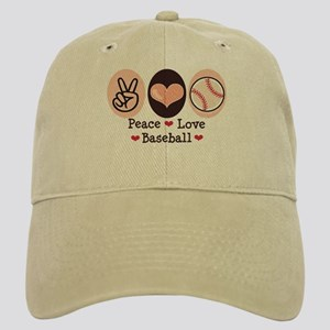 Peace Love Baseball Cap