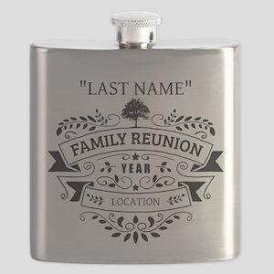 Custom Family Reunion Flask