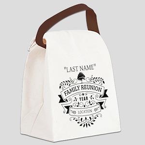 Custom Family Reunion Canvas Lunch Bag