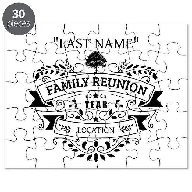 Custom Family Reunion Puzzle by 1512blvdfamily