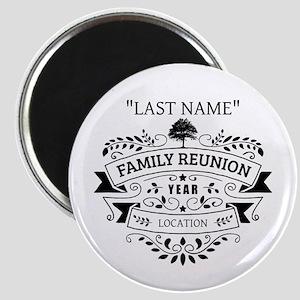 Custom Family Reunion Magnet