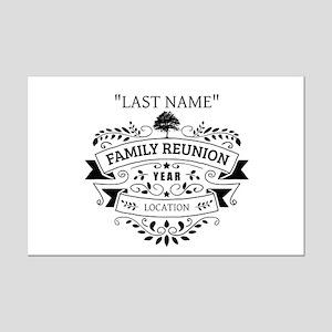 Custom Family Reunion Mini Poster Print