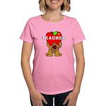 Teachers Apple Bear Women's Dark T-Shirt