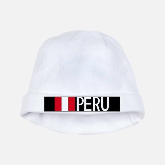 Peru: Peruvian Flag & Peru baby hat
