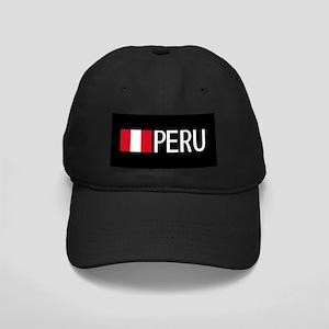 Peru: Peruvian Flag & Peru Black Cap