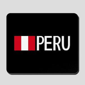 Peru: Peruvian Flag & Peru Mousepad