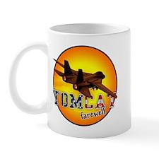 f-14 tomcat farewell Mug