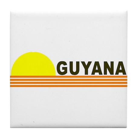 Guyana Tile Coaster