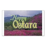 Magickal Life Ostara Rectangle Sticker