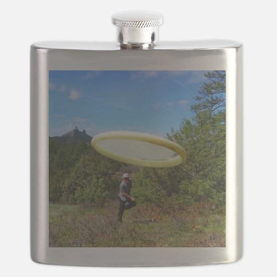 Cute Discgolf Flask