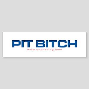 DND Pit Bitch Bumper Sticker