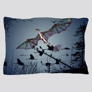 Awesome flying dragon Pillow Case