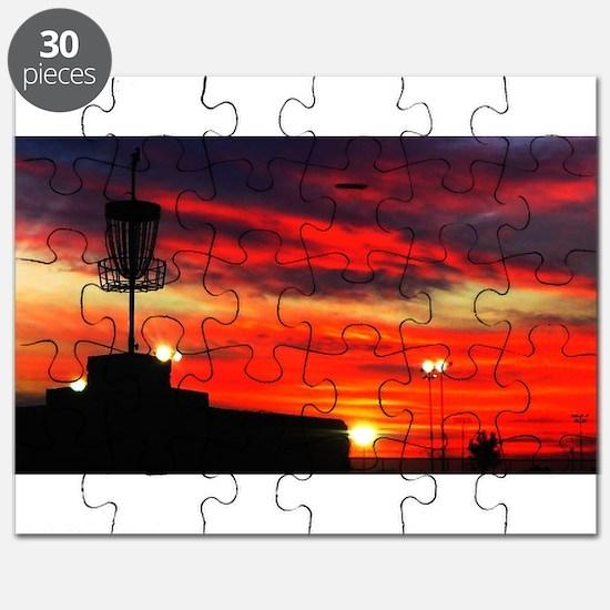 Cute Discgolf Puzzle