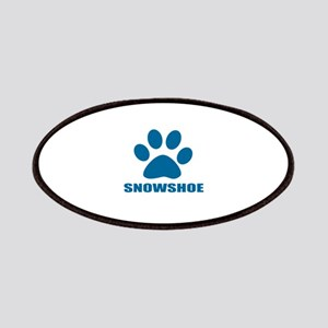 Snowshoe Cat Designs Patch