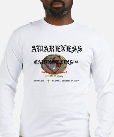 Awareness - Caring Coin Healt Long Sleeve T-Shirt