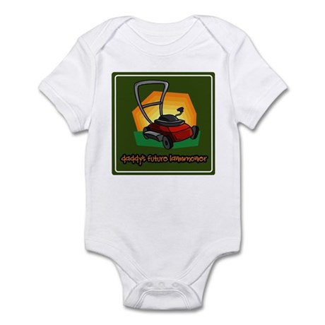 Daddy's Future Lawnmower Infant Bodysuit