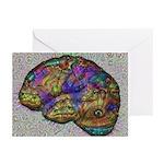 Neural Dream 2 Greeting Cards