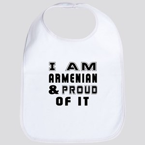 I Am Armenian And Proud Of It Bib