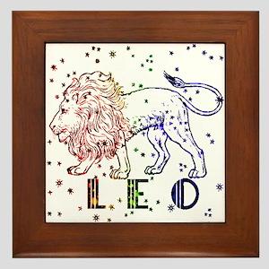 LEO SKIES Framed Tile