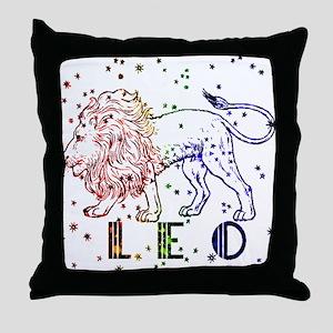 LEO SKIES Throw Pillow