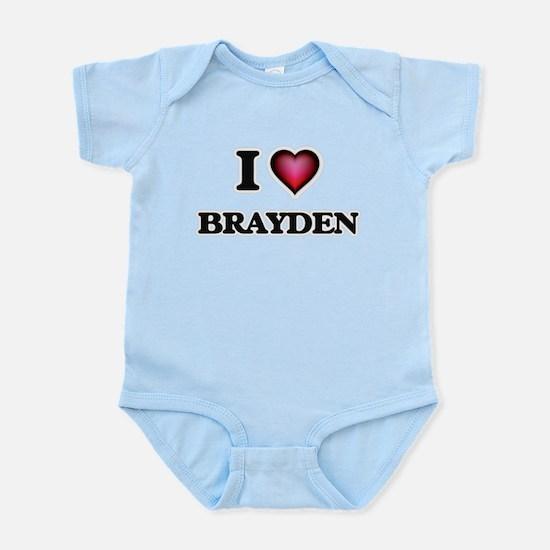 I love Brayden Body Suit