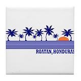 Roatan island Coasters