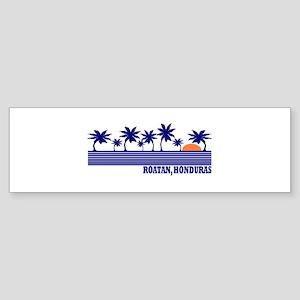 Roatan, Honduras Bumper Sticker