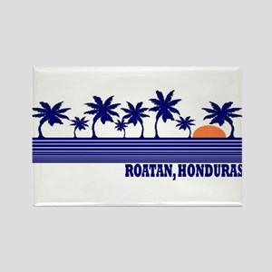 Roatan, Honduras Rectangle Magnet