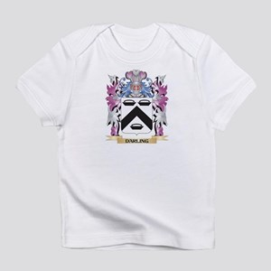 Darling Coat of Arms (Family Crest) Infant T-Shirt