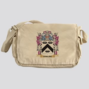 Darling Coat of Arms (Family Crest) Messenger Bag