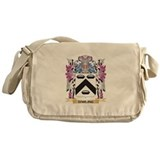 Darling coat of arms 2c Canvas Messenger Bags