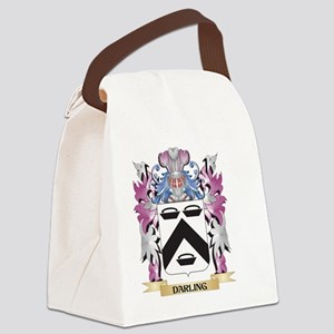 Darling Coat of Arms (Family Cres Canvas Lunch Bag