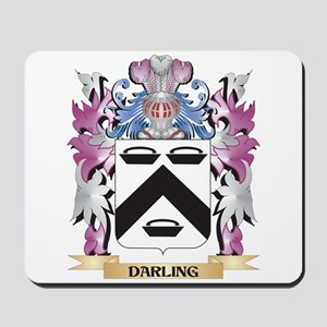 Darling Coat of Arms (Family Crest) Mousepad