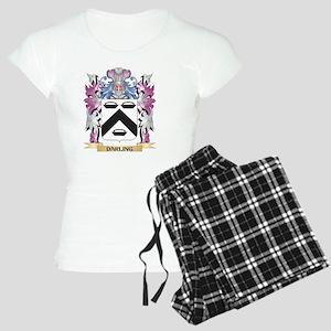Darling Coat of Arms (Famil Women's Light Pajamas