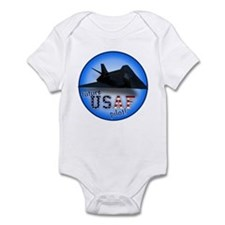 future USAF pilot (F-117) Infant Bodysuit