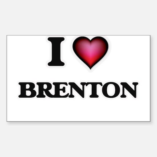 I love Brenton Decal