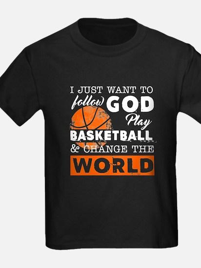 Play Basketball And Change The World T-Shirt