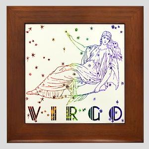 VIRGO SKIES Framed Tile