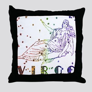 VIRGO SKIES Throw Pillow