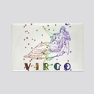 VIRGO SKIES Rectangle Magnet
