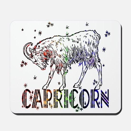 CAPRICORN SKIES Mousepad