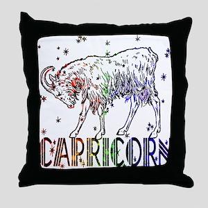 CAPRICORN SKIES Throw Pillow