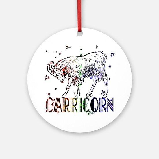 CAPRICORN SKIES Ornament (Round)
