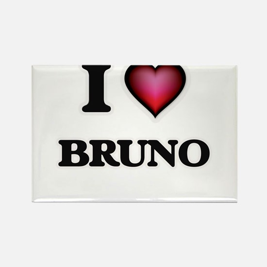 I love Bruno Magnets